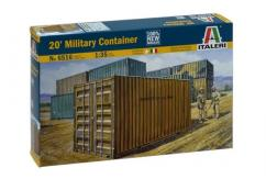 "Italeri 1/35 20"" Military Container image"