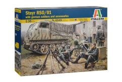 Italeri 1/35 Steyr RSO/01 with German Soldiers image