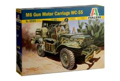 Italeri 1/35 M6 Gun Motor Carriage WC-55 image