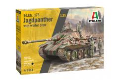Italeri 1/35 Jagdpanther with Winter Camo image