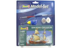 Revell 1/450 Spanish Galleon Model Set image