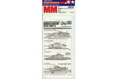 Tamiya 1/35 Modern Military Decal Sheet A image
