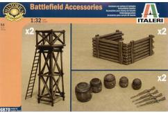 Italeri 1/32 Battlefield Accessories image