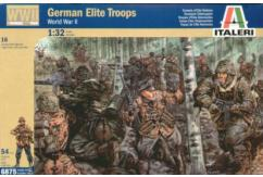 Italeri 1/32 WWII German Elite Troops image