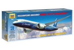 Zvezda 1/144 Civil Airliner Boeing 787-8 Dreamliner image