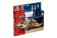 Italeri 1/72 UH-60 Desert Hawk Helicopter - Model Set image