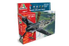 Italeri 1/72 Messerschmitt BF109F - Model Set image