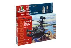 Italeri 1/72 Apache Longbow - Model Set image