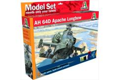 Italeri 1/72 AH 64D Apache Longbow - Model Set image