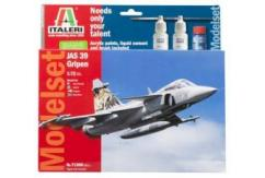 Italeri 1/72 JAS 39 Gripen Jet Fighter - Model Set image
