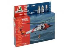Italeri 1/72 HH-60J Coast Guard - Model Set image