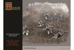 Pegasus Hobbies 1/72 WWI French Infantry 1917-1918 image