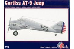 Pavla Models 1/72 Curtiss AT-9 Jeep image
