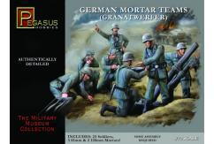 Pegasus Hobbies 1/72 German Mortar Teams (Granatwerfer) image