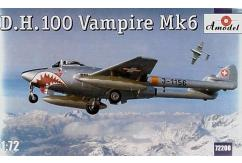 A Model 1/72 de Havilland D.H.100 Vampire Mk.6 (Swiss) image