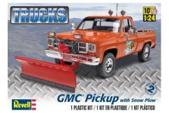 Revell 1/25 GMC Pickup with Snow Plow image