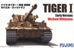 Fujimi 1/72 German Tiger 1 Tank Early Version Michael Wittman image