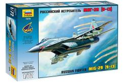 Zvezda 1/72 MIG-29S Russian Fighter image