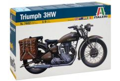 Italeri 1/9 WWII Triumph 3HW Motorcycle NZ Commerative image