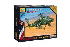 Zvezda 1/144 AH-64 Apache U.S. Attack Helicopter image