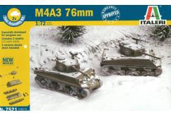 Italeri 1/72 M4 A3 76mm - Fast Assembly image