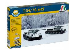 Italeri 1/72 T-34/76 m42 - Fast Assembly image