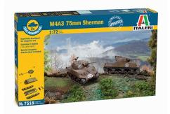 Italeri 1/72 Sherman M4 A3 - Fast Assembly Kit image