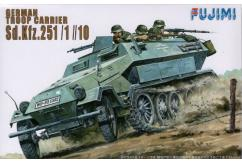 Fujimi 1/76 German Troop Carrier Sd.Kfz 251/1 image