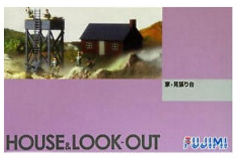 Fujimi 1/76 House & Watch Stand image