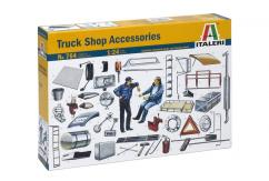 Italeri 1/24 Truck Shop Accessories image