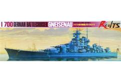 Tamiya 1/700 German Battlecruiser Gneisenau image