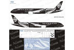 Ascensio 1/144 Air New Zealand 787-9 Black Decal Set image