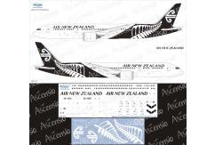 Ascensio 1/144 Air New Zealand 787-9 Black/White Decal Set image
