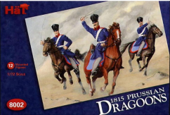 HaT 1/72 1815 Prussian Dragoons (12 Pcs) image