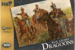 HaT 1/72 KGL Light Dragoons (12 Pcs) image