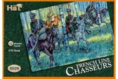 HaT 1/72 French Line Chasseurs (12 Pcs) image
