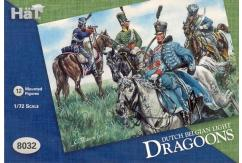 HaT 1/72 Dutch Belgian Light Dragoons (12 Pcs) image