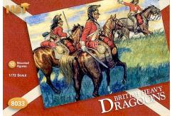 HaT 1/72 British Heavy Dragoons (12 Pcs) image