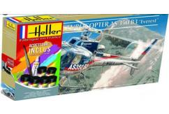 Heller 1/48 Eurocopter AS350 B3 'Everest' Model Set image