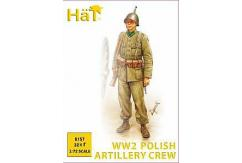HaT 1/72 WWII Polish Artillery Crew (32 Pcs) image