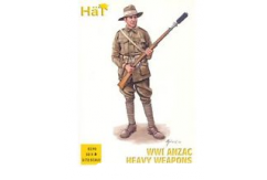 HaT 1/72 WWI ANZAC Heavy Weapons (32 Pcs) image