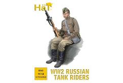 HaT 1/72 WWII Russian Tank Riders (44 Pcs) image