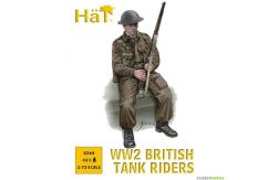 HaT 1/72 WWII British Tank Riders (44 Pcs) image