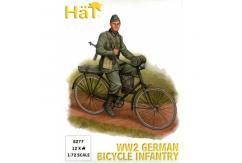 HaT 1/72 WWII German Bicycle Infantry (12 Pcs) image