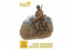 HaT 1/72 WWII Japanese Bicycle Infantry (12 Pcs) image