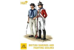 HaT 1/72 British Marines & Fighting Sailors (48 Pcs) image