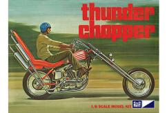MPC 1/8 Thunder Chopper Custom Motorcycle image