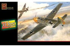 Pegasus Hobbies 1/48 Messerschmitt Bf-109 E4 Snap Kit image