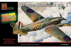 Pegasus Hobbies 1/48 Hawker Hurricane Mk1 Snap Kit image