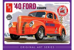 AMT 1/25 1940 Ford Coupe Original Artwork Boxing image